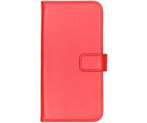 Selencia Luxe Softcase Booktype Samsung Galaxy A40 - Rood