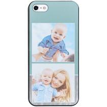 Ontwerp uw eigen iPhone 5 / 5s / SE hardcase hoesje - Zwart