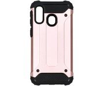 Rugged Xtreme Backcover Samsung Galaxy A40 - Rosé Goud