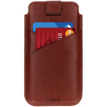 Valenta Pocket Premium Insteekhoes iPhone 11 / Xr - Bruin