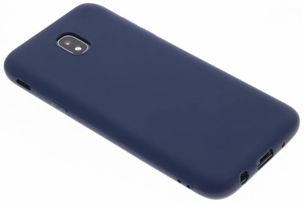 Color Backcover voor Samsung Galaxy J5 (2017) - Blauw