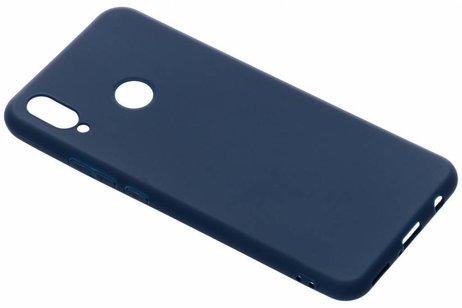 Color Backcover voor Huawei P Smart Plus - Blauw