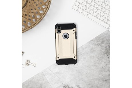 Rugged Xtreme Backcover voor Motorola Moto G4 (Plus) - Goud