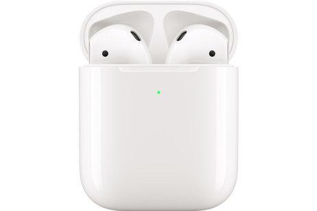 Apple AirPods 2 met draadloze oplaadcase - voor Apple Devices