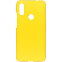 Effen Backcover Xiaomi Redmi 7 - Geel