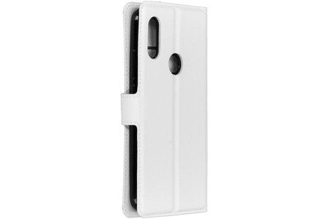 Xiaomi Redmi 7 hoesje - Basic Litchi Booktype voor