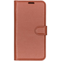 Basic Litchi Booktype Xiaomi Mi Play - Bruin