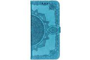 Mandala Booktype voor de Sony Xperia L3 - Turquoise
