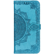 Mandala Booktype Sony Xperia L3 - Turquoise