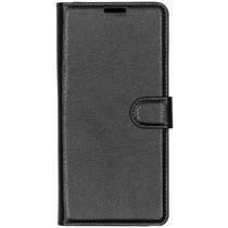 Basic Litchi Booktype Xiaomi Redmi 7 - Zwart