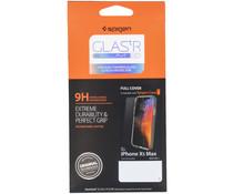 Spigen GLAStR Screenprotector iPhone Xs Max - Zwart