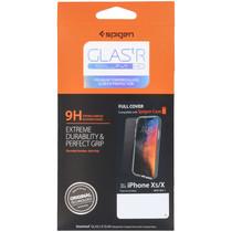 Spigen GLAStR Screenprotector iPhone Xs / X - Zwart