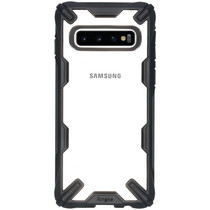 Ringke Fusion X Backcover Samsung Galaxy S10 - Zwart