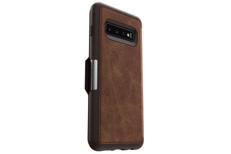 Samsung Galaxy S10 hoesje - OtterBox Strada Booktype voor