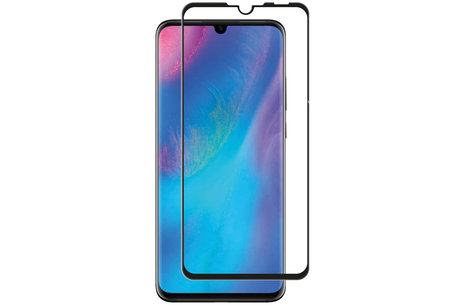 Selencia Gehard Glas Premium Screenprotector voor de Huawei P30 Lite - Zwart