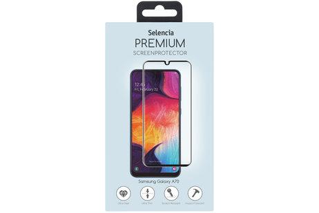 Selencia Gehard Glas Premium Screenprotector voor de Samsung Galaxy A70