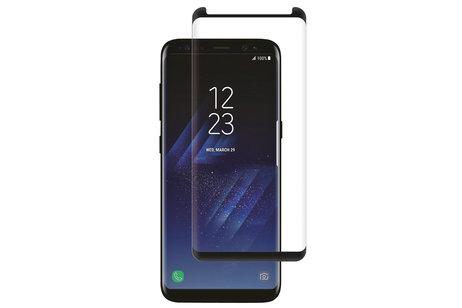 Selencia Gehard Glas Premium Screenprotector voor Samsung Galaxy S8 - Zwart