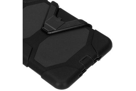 Extreme Protection Army Backcover voor de iPad mini (2019) / iPad Mini 4 - Zwart