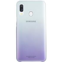 Samsung Gradation Backcover Galaxy A40 - Paars