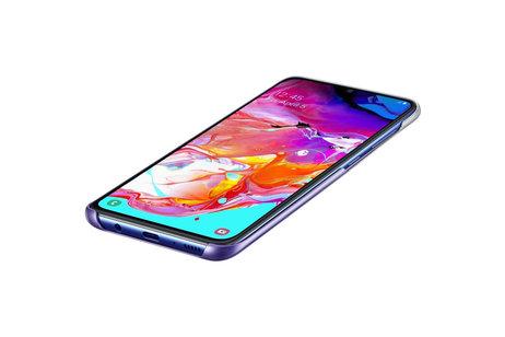 Samsung Galaxy A70 hoesje - Samsung Gradation Backcover voor