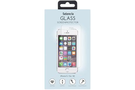 Selencia Gehard Glas Screenprotector voor iPhone SE / 5 / 5s
