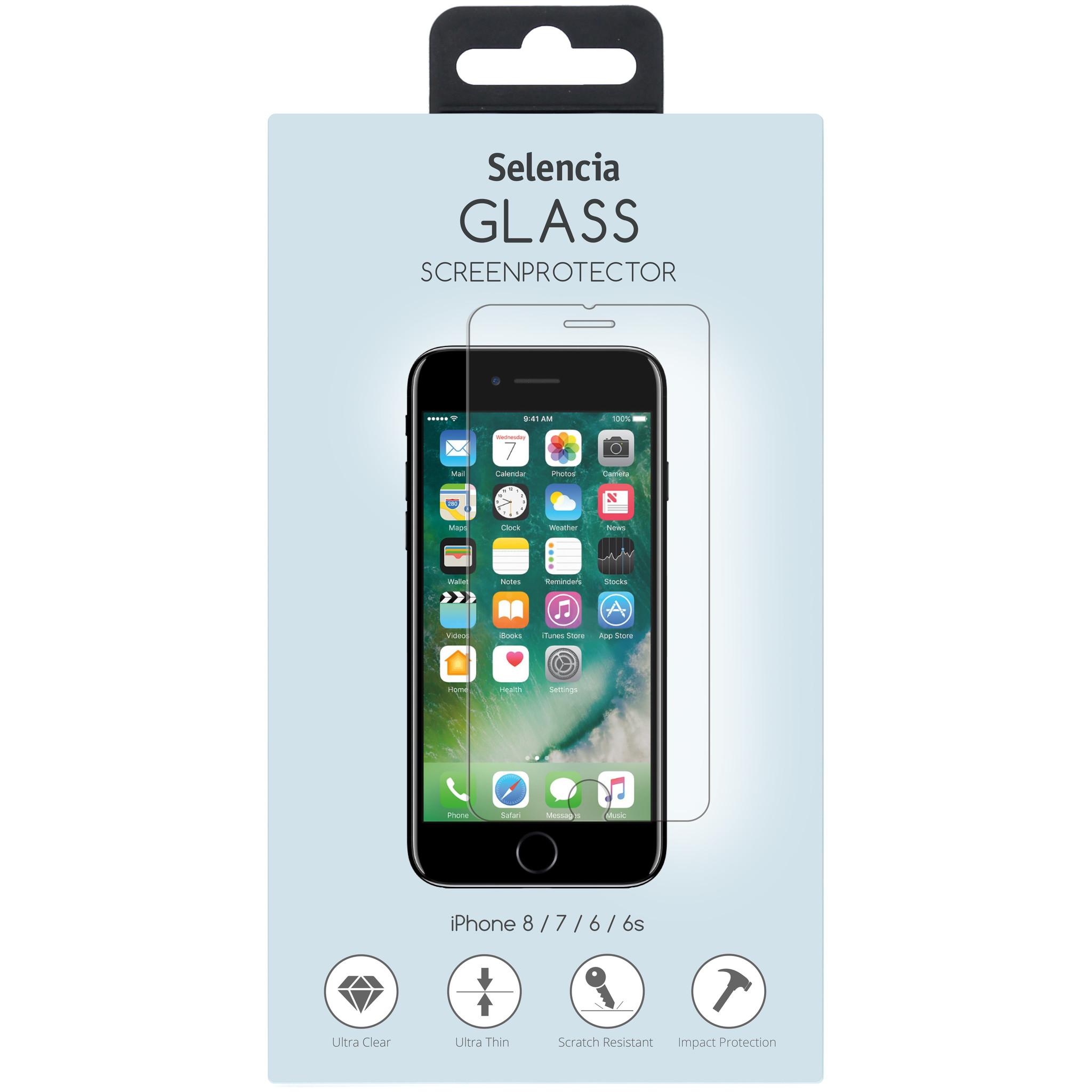 Gehard Glas Screenprotector.Selencia Gehard Glas Screenprotector Voor Iphone 8 7 6s 6