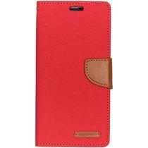 Mercury Goospery Canvas Diary Booktype Samsung Galaxy S10 Plus - Rood