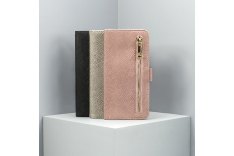 Huawei Mate 20 Lite hoesje - Luxe Booktype met rits