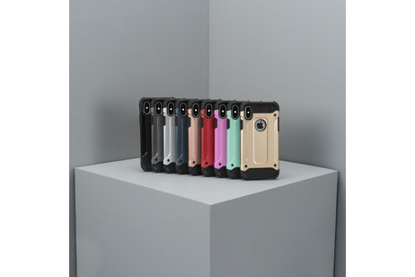 Rugged Xtreme Backcover voor Motorola Moto G4 (Plus) - Zwart