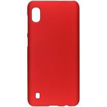 Effen Backcover Samsung Galaxy A10 - Rood