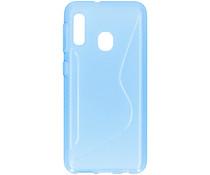 S-line Backcover Samsung Galaxy A20e - Blauw