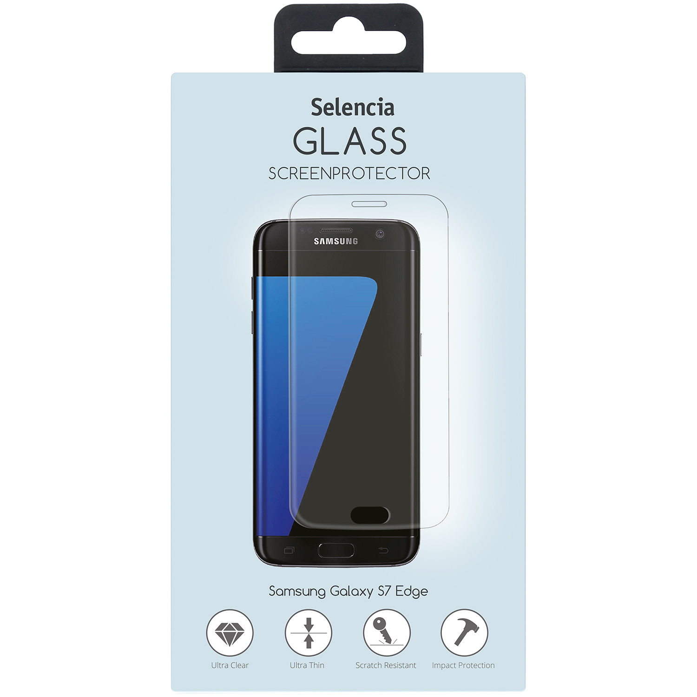 Selencia Gehard glas screenprotector Samsung Galaxy S7 Edge