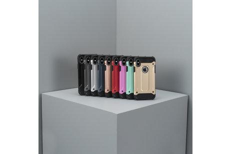Rugged Xtreme Backcover voor Motorola Moto G6 Plus - Goud