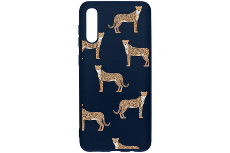 Design Backcover Color voor de Samsung Galaxy A50 / A30s - Cheetah