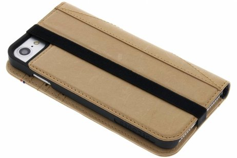 Decoded Leather Wallet Booktype voor iPhone 8 / 7 / 6s / 6 - Bruin