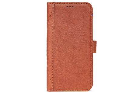 iPhone Xs Max hoesje - Decoded Leather Wallet Booktype