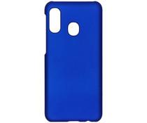 Effen Backcover Samsung Galaxy A20e - Blauw