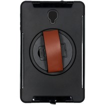 Defender Backcover met strap Galaxy Tab S4 10.5 - Zwart
