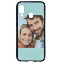 Ontwerp uw eigen Samsung Galaxy A20e gel hoesje - Zwart