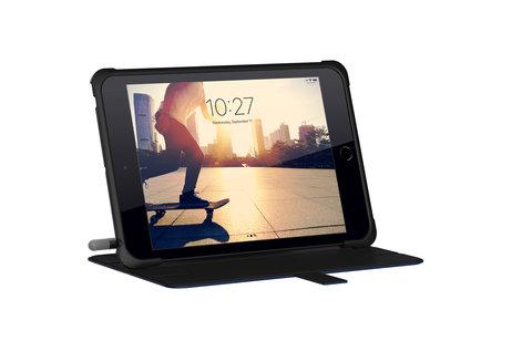 UAG Metropolis Bookcase voor de iPad mini (2019) / iPad Mini 4 - Blauw
