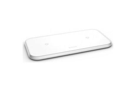 Zens Dual Fast Wireless Charger - 20 Watt - Aluminium Series