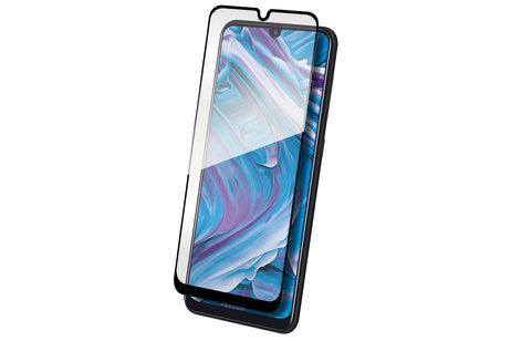 THOR Full Screenprotector + Apply Frame voor de Samsung Galaxy A50 - Zwart