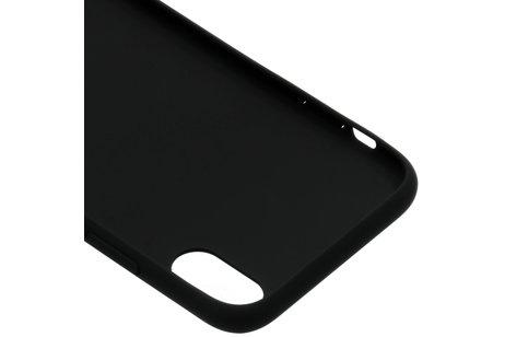 Guess iriDescent Hardcase voor de iPhone Xs / X - Zwart