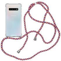 iMoshion Backcover met koord Samsung Galaxy S10 - Paars