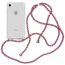 iMoshion Backcover met koord iPhone SE (2020) / 8 / 7 - Paars
