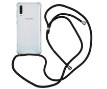 Backcover met koord Samsung Galaxy A50 - Zwart