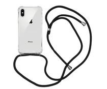 iMoshion Backcover met koord iPhone Xs / X - Zwart