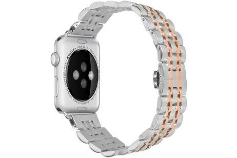 Apple hoesje - iMoshion Stainless steel Watch