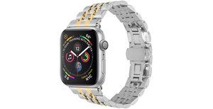 iMoshion Stalen watch bandje Apple Watch 38/40 mm - Goud