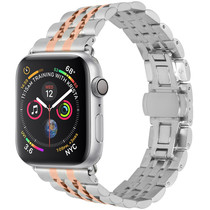 iMoshion Stalen watch bandje Apple Watch 38/40 mm - Rosé Goud
